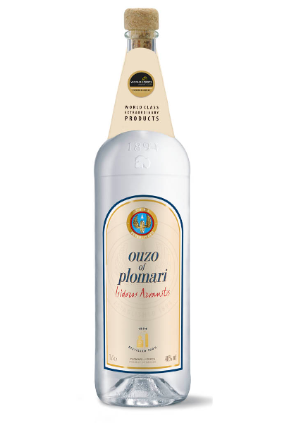 how to drink ouzo of plomari