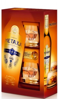 Metaxa-7-Giftbox